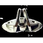 Gloma Nautica Double Folding padeye