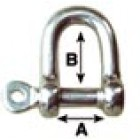 12mm Straight Shackle