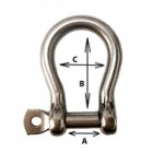 8mm Bow Shackle