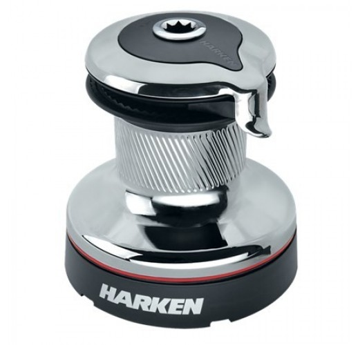 46 Self-Tailing Radial Chrome Winch — 2 Speed