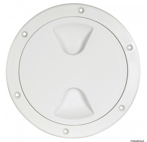 Stylish and practical inspection hatch white 125mm