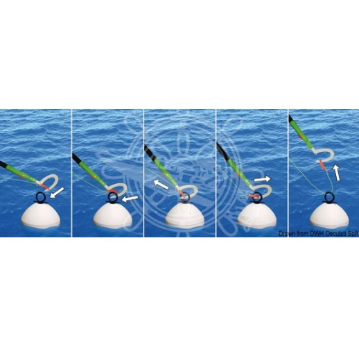 Easy Mooring telescopic boat hook