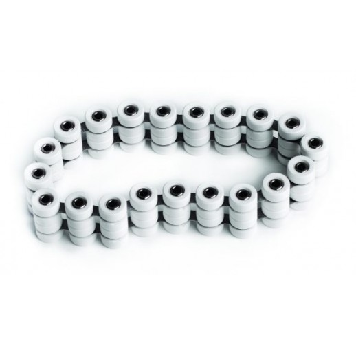 Roll-links for 50mm travellers