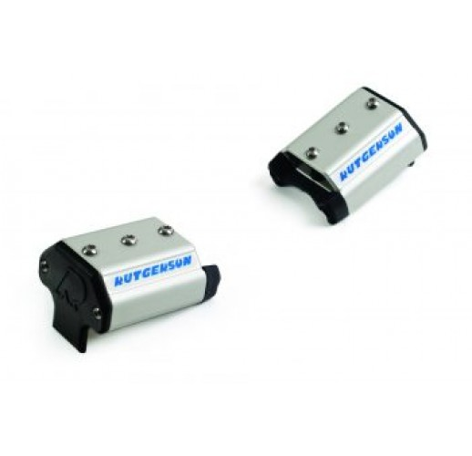 Control line end stops with sheaves for 50mm track