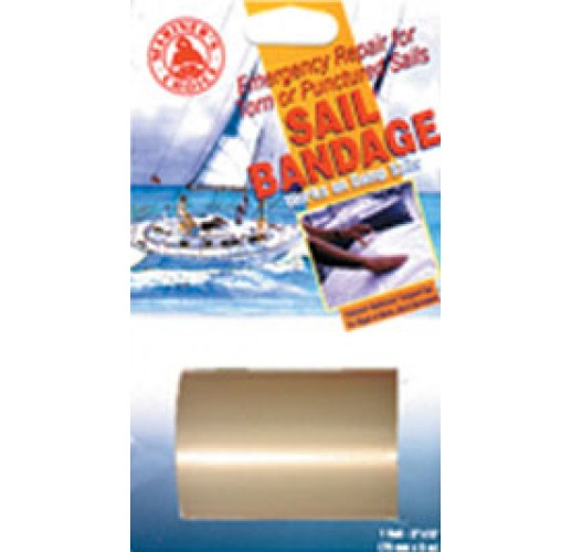 Sail bandage 75mm*5m, clear