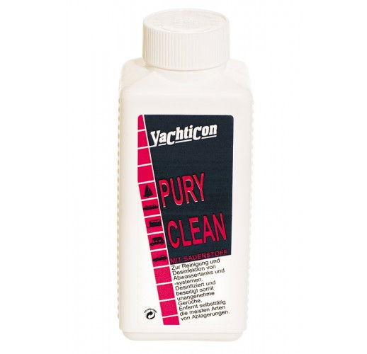 PURY CLEAN For cleaning and disinfection of waste water tanks